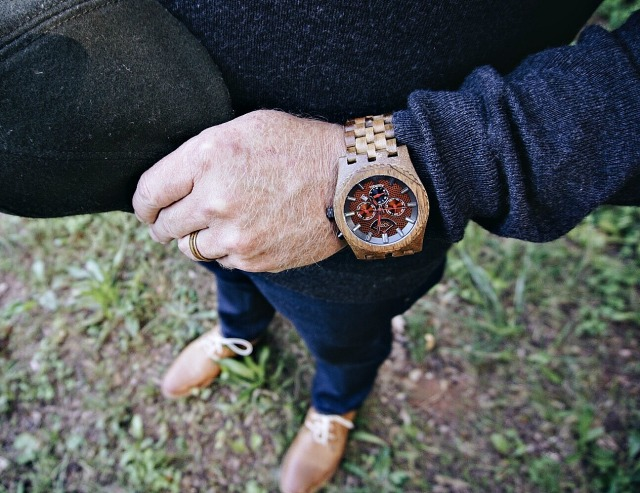 JORD Sawyer Wood Watch