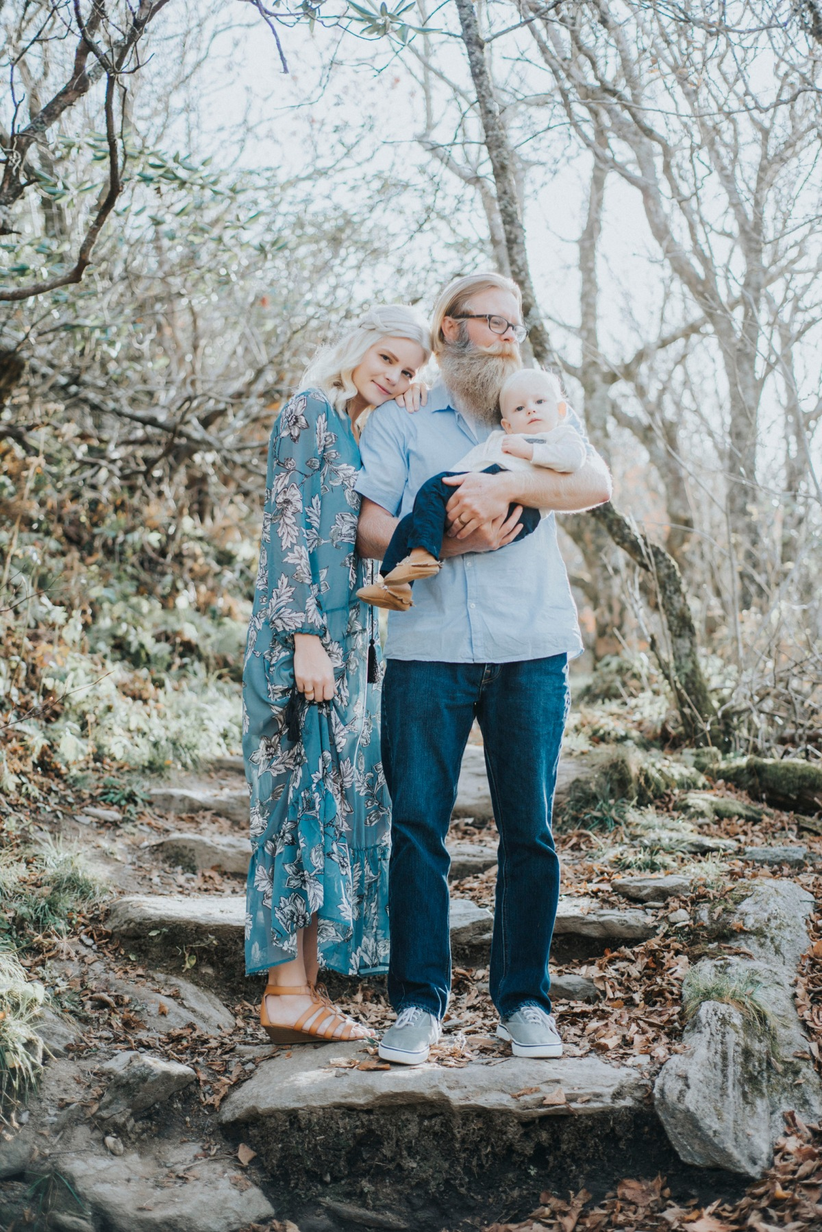 Fall Family Session in the NCMountains